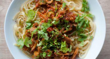 Shawarma Linguine