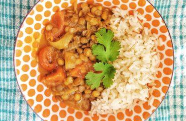 Lentil Coconut Curry